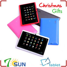 """7"""" Allwinner A13 Q88 Android 4.0 Capacitive Cheap Tablet for Family Friend Christmas Gift cheap china android tablet"""