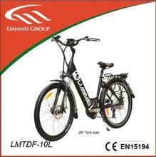 26'' urban bike electric 5 level speed (LMTDF-10L)