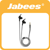 Jabees newest flat cable handsfree stereo earphone in ear for ipod