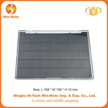 China supplier make your own style big brands supplier 24 color classic durable AS+ABS rectangle empty oem makeup palette contai