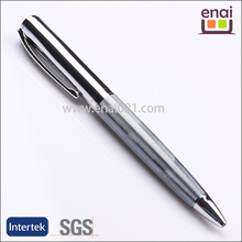 2015 Elegant ball pen with brass material and twist action steel metal parker