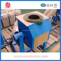 100kg Steel billet induction melting furnace