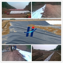 Waterproofing geomembrane pond liner manufacturers
