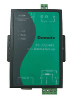 Demeix Serial Device Server, 2 port,RS232/RS485 converter,Communication equipment