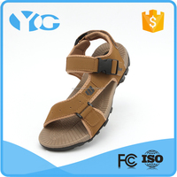 latest design nubuck leather mens bali leather sandals