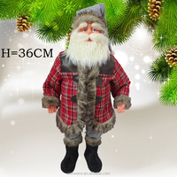2015 Unique Christmas Santa Clause/New Year Christmas Santa Clause with winter garment