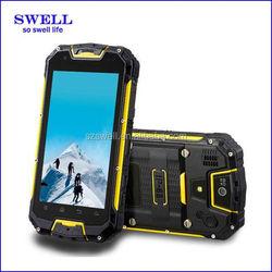 unlock walkie talkie 4inch rugged phone android4.4 dual sim cellphone waterproof quad core IP67 wcdma gsm M8