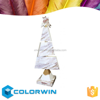 Decorative fancy shape for paper stand display sale