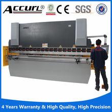 ACCURL mb8 series CNC hydraulic steel plate press brake (160ton x2500mm )