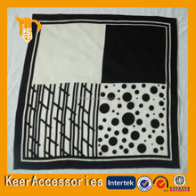 Popular square scarf silk
