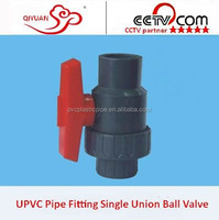 2015 PVC/Plastic Pipe Fitting Single Union Ball Valve/Handles or Valve Ball for Sale