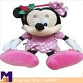 ratón y el tipo de material de la felpa de mickey mouse suave juguetes