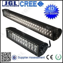 Factory direct! 500 12v 4D Osram led light bars 52inch double row led light bar