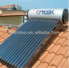 Solar water heater, heat pipe vacuum tubes solar heater, high pressure water heater, 150L solar water heater