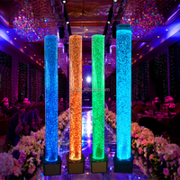 party decoration led dance water bubble acrylic tube
