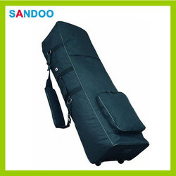 50 inch sports golf travel bags wheel travel covers, large capacity colorful golf bag with wheels