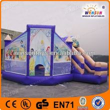 attractive cute princess jumping castles inflatables