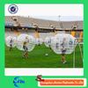 Transparent Color Plastic Stress Ball Bubble Soccer Dia 1.5m/ 1.2m for sale