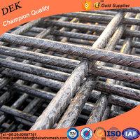 Reinforced steel concrete welded mesh reinforcement mats