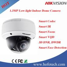 Hikvision1.3MP Low-light Indoor Dome Camera,Indoor POE camera,smart ip camera