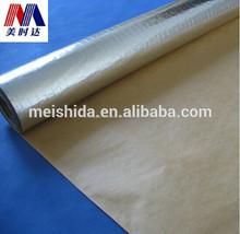 aislamiento de calor fsk material de papel de papel de aluminio