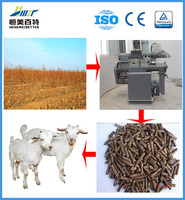 cottonseed hull feed pellet making line hot sale
