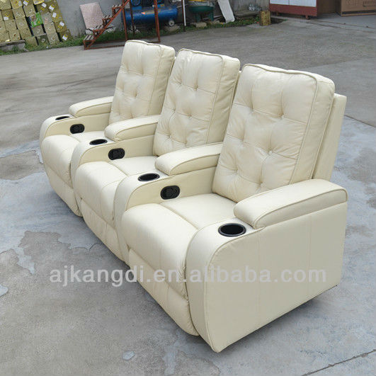 cin ma chaise canap inclinable chaise de cin ma cin ma chaise kd th01 white canap salon id du. Black Bedroom Furniture Sets. Home Design Ideas