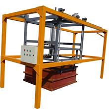 Non autoclaved aerated concrete block removing mold machine
