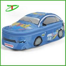 Customized car shaped boys school pencil cases, cute pencil case for kids