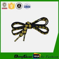 Hot sale newest design custom flat shoelaces for Sport Shoes