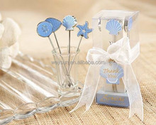 wedding favor gift -- Seaside Picks Fruit fork(set of 4 picks) party Gifts