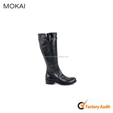 13301-Black botas de vaquero para mujeres