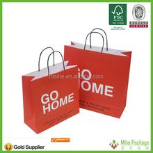 2015 paper shopping bag,paper bag printing,paper bag hot sale