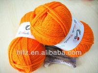 100% acrylic fiber for handknitting