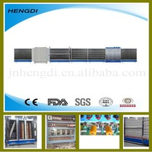 insulating glass machine/automatic washing drying pressing assembling processing line/double triple glass machinery