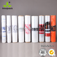 fresh warp pe cling film jumbo roll stretch film casting pvc film