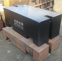rectangular bar weight, heavy weight iron box, 2ton test weights