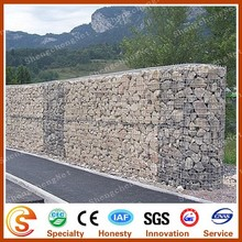 Competitive price Guangzhou hexagonal wall cage gabion box stone cage