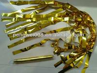 flameproof confetti metallic streamers /flameproof konfetti paper streamers