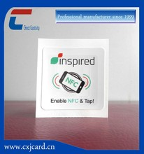 NFC tag for books