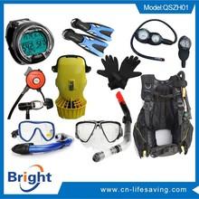 2015 new product diving scba, scuba diving mask regulator, diving equipment compressor
