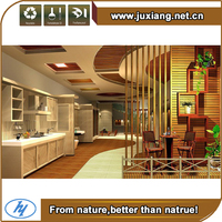 Hotel use eco wood decorational modern wpc ceiling