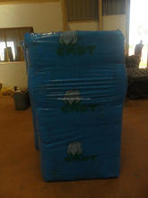 Big blue cotton packaging bag export to Africa
