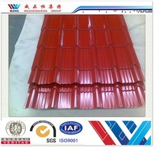 Building materials sheet metal roofing corrugated roofing sheet purple roof tile