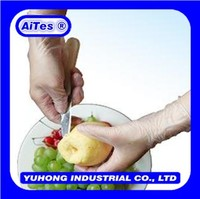 Fruit food vinyl gloves of box package /pvc disposable gloves Jiangsu China Mainland