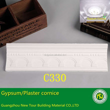 gypsum plaster crown moulding cove for ceiling