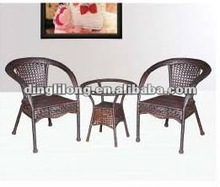 modern outdoor leisure cany art funiture set