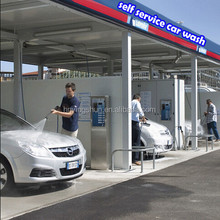 2015 CE coin /card operated hot water 80 bar self service car wash /self service car wash self-service