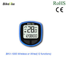 Bike/Bicycle Computer Waterproof Sport Speedometers Cycle Bicycle with LCD