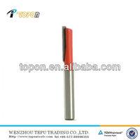 Router Bit Tungsten Carbide One Flute 6.3mm 1/4in Shank